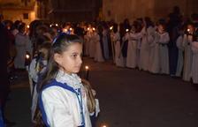 Les dones, protagonistes de la processó de la Soledat