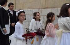 La Coronació del Senyor omple l'església de la Puríssima Sang