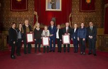 Tarragona entrega 3 títols pòstums a fills predilectes de la ciutat