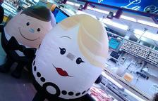 El Mercat Central ensenya a interpretar els codis dels ous