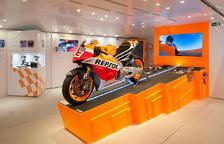 El Repsol Racing Tour lleva la moto de Marc Màrquez a Tarragona