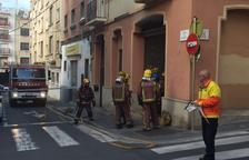 Crema un local del carrer Fortuny