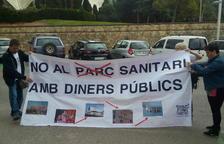 Els col·lectius denuncien l'entrada de Santa Tecla al Parc Sanitari