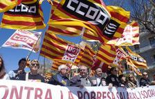 Els sindicats exigeixen que es derogui la reforma laboral