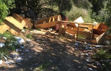 L'Ajuntament de Tarragona identifica al responsable de les deixalles abocades a la llera del Francolí