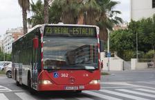 Tarragona té el bitllet senzill de bus urbà més car de la província