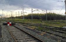 Els sindicats denuncien el perillós estat de l'estació de classificació a Tarragona