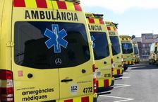 Un motorista ferit greu en un xoc amb un turisme a Calafell