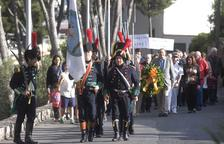 Un acte íntim honora els defensors del Fortí de l'Oliva del 1811