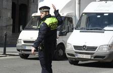 Imagen de archivo de un agente de la Guardia Urbana de Tarragona.