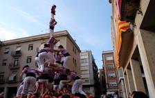 La Jove posa el fre a la diada del bateig dels Castellers de Tortosa