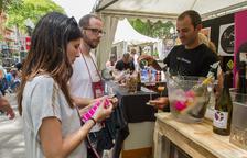 La Rambla Nova «es vesteix de vi» per reivindicar la marca DO Tarragona