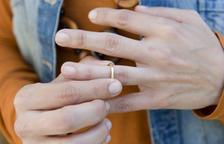 El nou divorci notarial ha fet disminuir el nombre de pleits matrimonials als jutjats