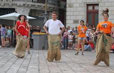 Los elementos del 'seguici festiu' de Reus, rivales por unas horas