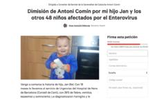 Fins a 28.168 signatures demanen la dimissió del conseller Antoni Comín