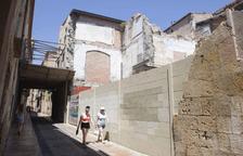 Casa Foixà continua sense projecte quatre anys després de l'ensorrament