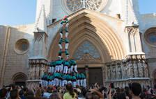 Els Castellers de Vilafranca volen fer el 4de9sf al Pla de la Seu