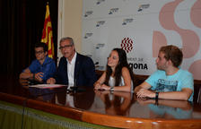 Els tres millors estudiants de Tarragona, pregoners de Santa Tecla