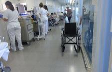 Les urgències de l'Hospital Sant Joan es desborden per l'augment de pacients