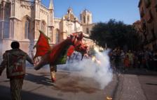 Tres membres del Drac de Sant Roc seran els banderers del matí de Santa Tecla
