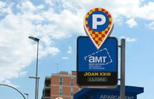 Nueva imagen por los aparcamientos municipales de Tarragona