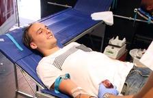La Marató de donació de Sang de Santa Tecla es proposa mantenir el rècord europeu