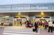 La terminal de llegadas del aeropuerto reusense, en una imagen de archivo.