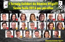 Campionat de dòmino solidari entre regidors de Tarragona