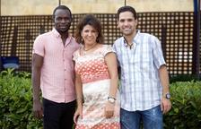 Els voluntaris dels Jocs Mediterranis també són internacionals