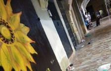 Farts de Soroll denuncia la brutícia del primer dia de festa de Santa Tecla