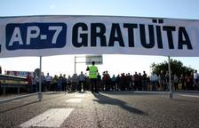El moviment veïnal per la gratuïtat de l'AP-7 suspèn els talls de carretera d'aquest dijous
