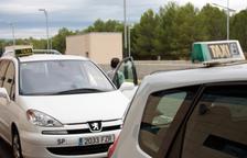 Imatge d'arxiu de taxis de Tarragona