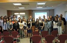 Alumnes del màster d'enoturisme internacional de la URV visiten la Terra Alta