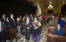 Un manto de flores reivindica Aragón en Tarragona