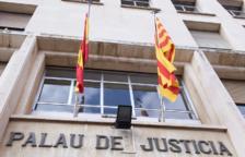 Imatge de la façana de l'Antiga Audiència de Tarragona.