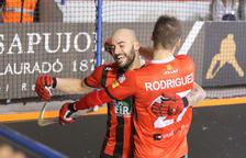 Raúl Marín celebra un gol en una imatge d'arxiu.