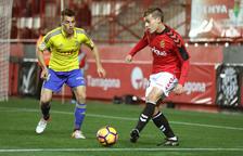 Muñiz, durante el partido en casa contra el Cádiz de la temporada pasada.