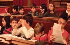 Un fotograma del vídeo amb membres del Consell d'Infants i Adolescents de Tarragona.