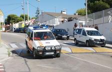 Imatge d'un vehicle de protecció civil a Calafell.