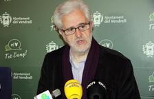 L'alcalde del Vendrell, Martí Carnicer, aquest dilluns.