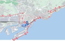 La façana litoral, protagonista de la Marató de Tarragona