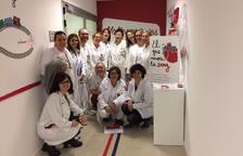 'El cor que mou la sang' recibe el apoyo de los servicios del hospital
