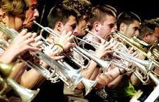La Banda Unió Musical de concierto en la iglesia de Sant Francesc