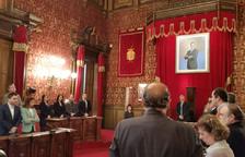 El Ple guarda un minut de silenci per la mort de Marbel Negueruela