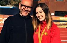 Belen Bermejo es proclama campiona de Catalunya Junior en llançament de Martell