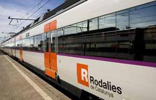 Una avaria en un tren manté 15 passatgers durant 2 hores entre Ascó i Móra la Nova