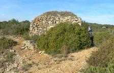La cabaña de piedra seca Mare Nostrum.