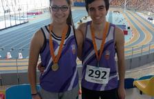 Dos joves del Club Atletisme Tarragona, primera i segon millors atletes de Catalunya