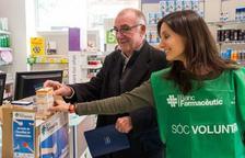 Los voluntarios tendrán que animar a las personas que entren en la farmacia a comprar un medicamento para la campaña solidaria.