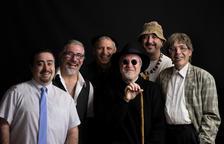 Los miembros del grupo Quico el Célio, el Noi y el Mut de Ferreries, que presentan nuevo disco.